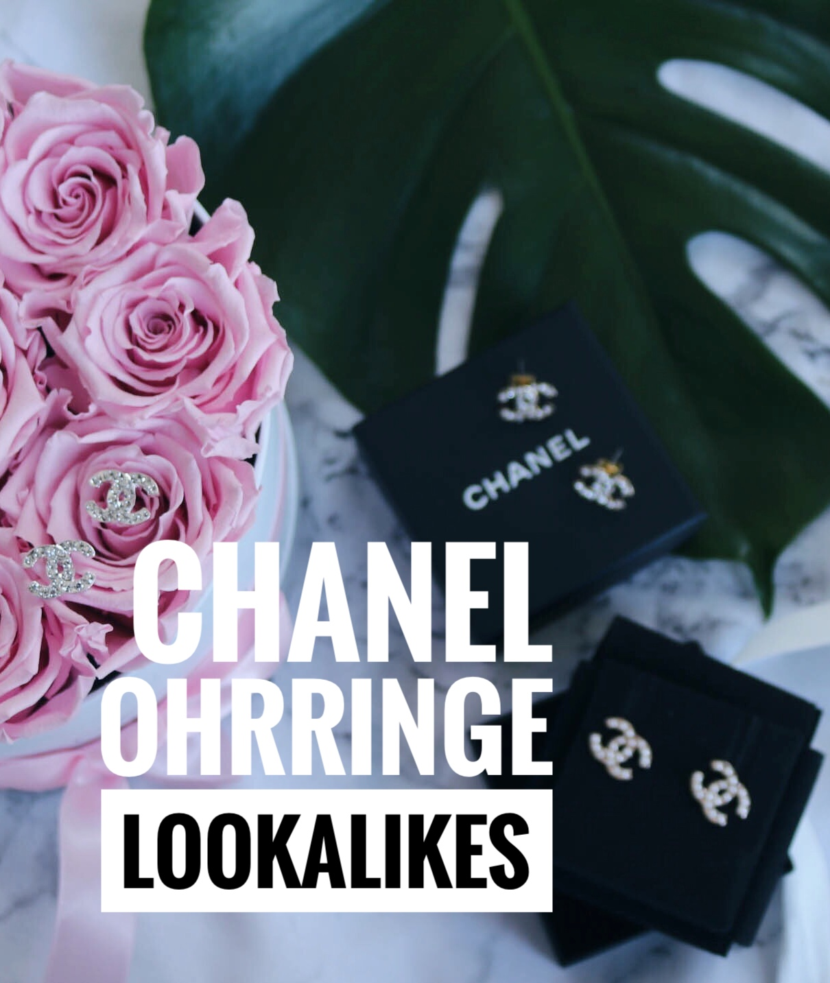 Chanel 'CC' Ohrringe Lookalikes – gibt es eine Alternative zum Original?